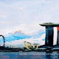 [UOB Bank] UOB Painting of the Year award-winning artist, Yeo Tze Yang captured one of his favourite moments of the National