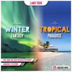 [ASA Holidays] Be it a ❄️Winter Fantasy Holiday or a ☀️Tropical Paradise Holiday, we have something for you!