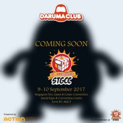[Action City] Daruma Club is bringing you lots of LOVE, HAPPINESS & HOPE at STGCC 2017 - Watch this space for upcoming exhibition art