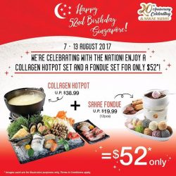 [Sakae Sushi] Eat like kings and queens and celebrate this National Day holiday with us!