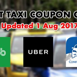 Save on Your Taxi Rides with These Latest Coupon Codes from Grab, Uber & ComfortDelGro!