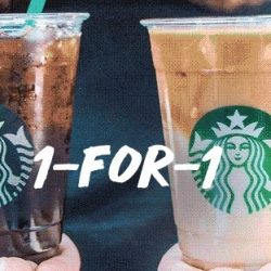 Starbucks: Enjoy 1-for-1 Venti-sized Beverages For 3 Days!