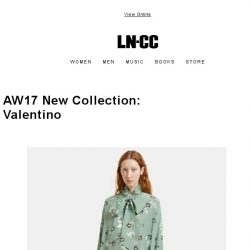[LN-CC] New AW17 Collection VALENTINO / +20% OFF SS17 SALE