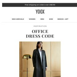 [Yoox] Office Dress Code: flawless office looks
