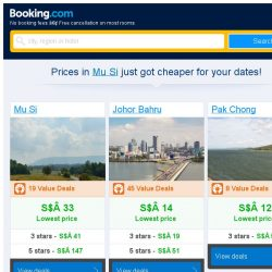 [Booking.com] Prices in Mu Si are dropping for your dates!