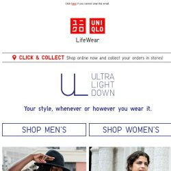 [UNIQLO Singapore] How well do you know Ultra Light Down?
