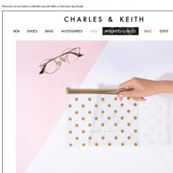 [Charles & Keith] BEAUTY IN BLOOM