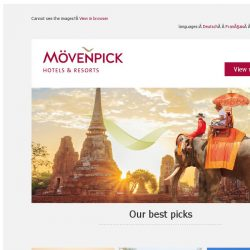 [Mövenpick Hotels & Resorts] Make memories this Autumn and save up to 30%