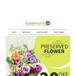 [Floweradvisor] [SNEAKY] Preserved Flowers to Make Her Never Get Over You