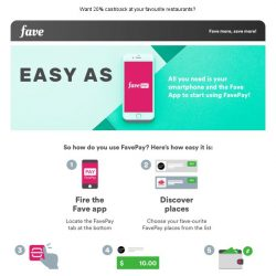 [Fave] Want to save more on your next meal? Here's how!