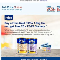 [Fairprice] Grab these exclusive offers today!
