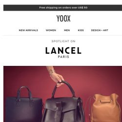 [Yoox] Spotlight on: Lancel, crème de la crème of Parisian chic