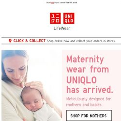 [UNIQLO Singapore] Guess what just came in! 👶🏻 🍼✨