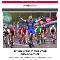 [probikekit] Last Chance   Extra 14% off Site...