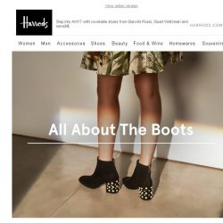[Harrods] All About The Boots