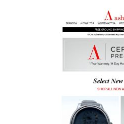 [Ashford] Your Certified Pre-Owned Watch is a Click Away!