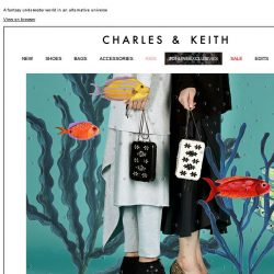 [Charles & Keith] READ MORE | MYSTICAL CREATURES