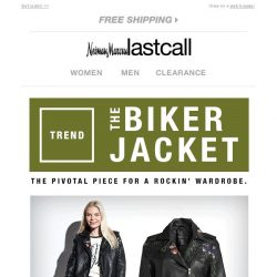 [Last Call] Fall trend: The Biker Jacket is here