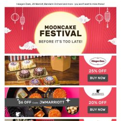 [Fave] Mooncake before it's too late!