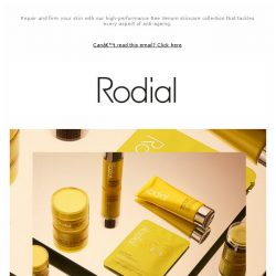 [RODIAL] Why Bee Venom Is A Great Anti-Ageing Ingredient