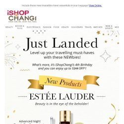 [iShopChangi] Welcome aboard ✈ Perfect NEWbies to your travel must-haves!