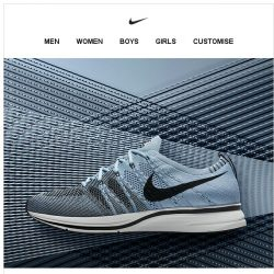 [Nike] Now Available: Nike Flyknit Trainer
