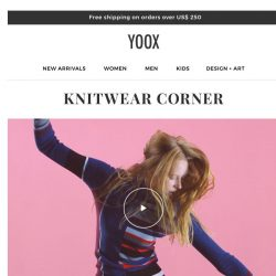 [Yoox] Knitwear Corner: check out the new area dedicated to sweaters