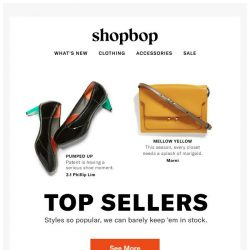 [Shopbop] We can't keep these in stock