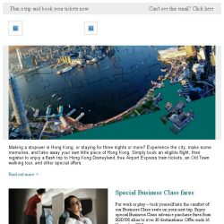 [Cathay Pacific Airways] Discover Hong Kong with free tours, Airport Express rides and more