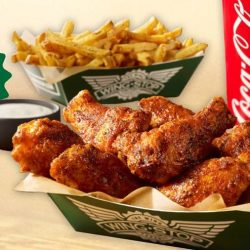 Wingstop: Buy 1 Get 1 6 Pc Hand-Breaded Wings Combo FREE At All Outlets