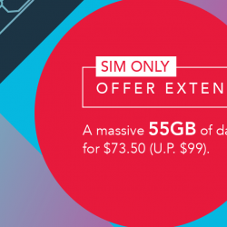 Singtel: SIM Only Plan with 55GB Mobile Data at $73.50 Per Month!