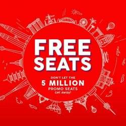 AirAsia: 5 Million FREE Seats to Bali, Cebu, Krabi, Phuket, Langkawi, Tokyo & More!