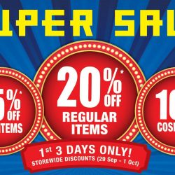 BHG: 3-Day Storewide Super Sale with 20% OFF Regular Items & More!