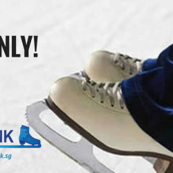 The Rink: 2-Hour Ice Skating + Skates Rental for Only $10!