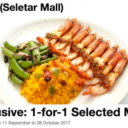 Fish & Co: Enjoy 1-for-1 Selected Mains at Seletar Mall Outlet!