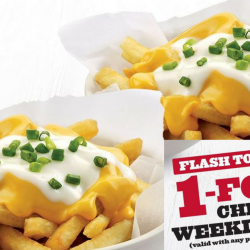 KFC: Flash This Coupon To Enjoy 1-for-1 Cheesy Fries on Weekdays!