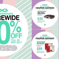 OG Singapore: Storewide 20% OFF + Coupons For More Savings