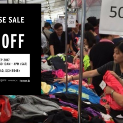 Royal Sporting House: Warehouse Sale Up to 80% OFF Quiksilver, Vans, Lacoste, Reebok & More