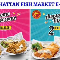 The Manhattan FISH MARKET: Flash These E-Coupons to Enjoy Offers for 2 to 4 Pax!