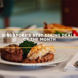 Singapore's Best Dining Deals of the Month (Nov 2017)