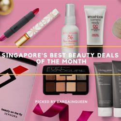 Singapore's Best Beauty Deals of the Month (Nov 2017)