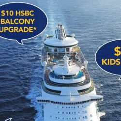 Royal Caribbean: Roadshow at VivoCity - $10 HSBC Balcony Upgrade, $10 Kids Fare & 50% OFF Seniors Special
