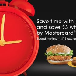 McDonald's: Save $3 On McDelivery When You Pay By MasterCard