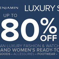FJ Benjamin: Luxury Sale with Up to 80% OFF Men's & Women's Luxury & Lifestyle Labels