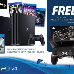 [PLAYe] Ongoing Promotion:Purchase either 1 PlayStation Consoles OR 2 PlayStation Games and bring home a free PlayStation Magnetic Key Holder!