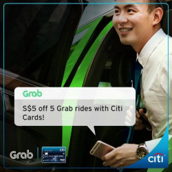 [Citibank ATM] Roam the city with Citi.