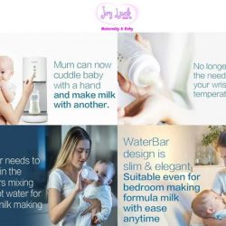 [JOY LUCK CLUB MATERNITY & BABY] We are delighted to invite our partner, Jason to do live demonstration for Diamond Water Bar Plus.
