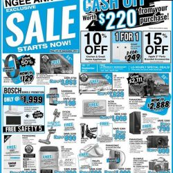 [Best Denki] Exclusive Sale going on at BEST Denki Ngee Ann City from today till 18 Sep!
