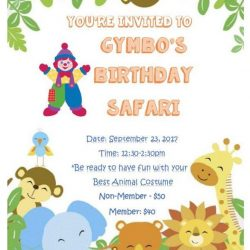 [GYMBOREE PLAY & MUSIC] Gymbo's Birthday Safari is near and are you coming?