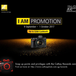 [Cathay Photo] Nikon's islandwide promotions have returned!